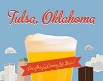 Tulsa Craft Beer Week Poster