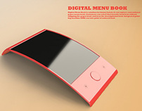 Digital Menu Book