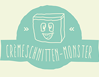 Webdesign - Cremeschnitten-Monster