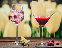 Spring beverages for IL Molino, Kyiv