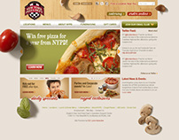 NYPD Pizza Branding (Website)