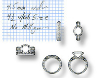 Technical Jewelry Sketches
