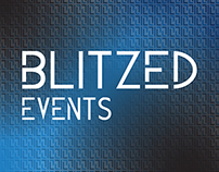 Blitzed Events Logo & Promotional Work