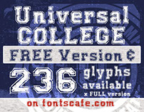 """Universal College Pack"" fonts"