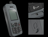 THURAYA XT-LITE SATPHONE MODELING AND ANIMATION
