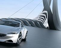 Peugeot SR1 - Architecture