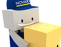 CHARACTER DESIGN FOR NOVART INDUSTRIAL SUPPLY WAREHOUSE