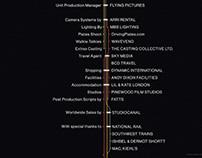 The Commuter - End Titles design. MT Exploration.
