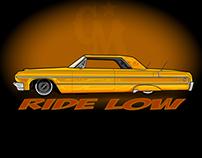 RIDE LOW 1964 impala