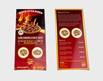 Pizza Restaurant Flyer - DL Size Template
