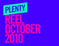 Plenty™ - Reel October 2010