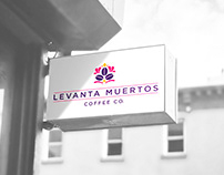 Levanta Muertos Coffee Co. | Branding & Packaging