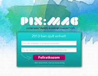 PIX:MAG layout 1.0