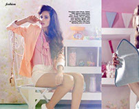 Candy Shop for Cosmopolitan India magazine February2012
