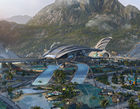 Artwork - Futuristic Resort