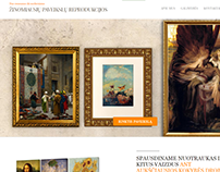Dream Paintings - representational website