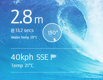 Surf Report App