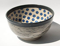Pretty Patterned Bowl