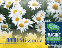 NAMI Missoula benefit poster for fundraising event
