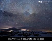 Happiness is Heaven on Earth