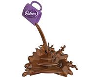 CADBURY CHOCOLATE STAND