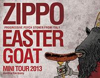 zippo easter goat poster
