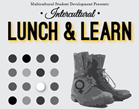 Multicultural Center Lunch & Learn Poster