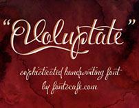 """Voluptate Pack"" fonts"