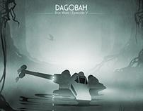 """Dagobah"" Inspired 13x19 Inch Print"