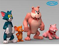 Personagens Turma do Tom e Jerry Warner Bros.