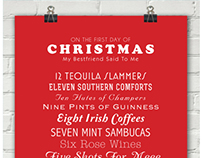 12 Days of Christmas at the Bar