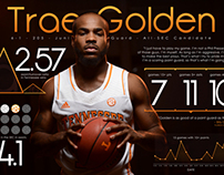 University of Tennessee Basketball Infographics
