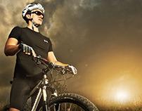 Diego Morales Portrait / Mountain bike