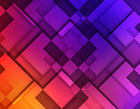 Geometric multicolor wallpaper