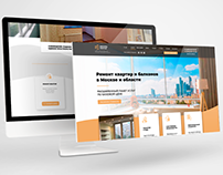 Website of apartment repair company