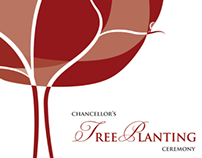 Chancellor's Tree Planting Poster