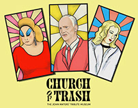 Church of Trash - Branding & Illustration
