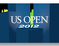 US OPEN Ribbon Board Animations