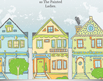 Painted Ladies Brochure [ San Francisco ]
