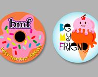 BMF Stickers promo 2010