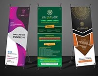 educaton roll-up banner design