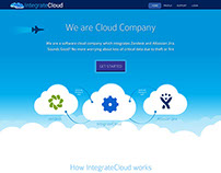Landing Page for Integrate Cloud