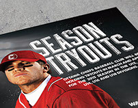 Ottawa Chiefs Poster // Graphic Design