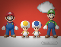 Nintendo Coin Battle - contest microsite