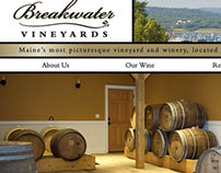 Breakwater Vineyards Website Design