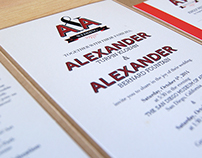 Alex & Alexander's Wedding Paper Goods