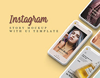 FREE INSTAGRAM STORY MOCKUP (IPHONE X)