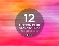 12 Free Motion Blur 8K Backgrounds For Website Or App