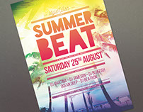 Summer Beat Flyer