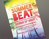 Summer Beat Flyer